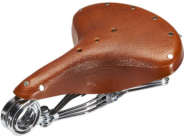Brooks B33 Unique Saddle Made Of Corn Leather honey